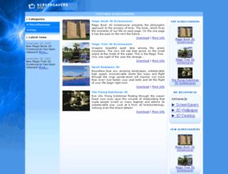 screensaversstore.com screenshot