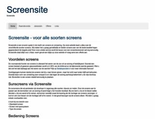 screensite.nl screenshot