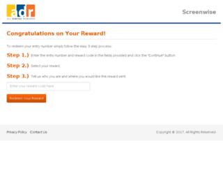 screenwise.selectrewardcenter.net screenshot