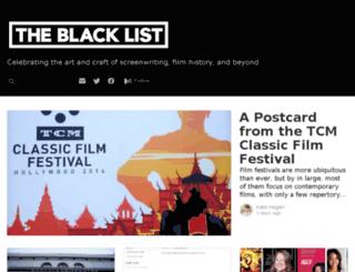screenwritingtips.blcklst.com screenshot