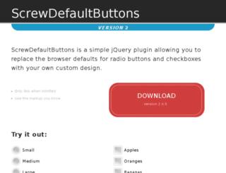 screwdefaultbuttons.com screenshot