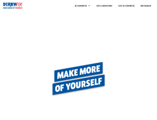 screwfixcareers.com screenshot