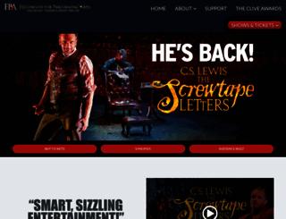 screwtapeonstage.com screenshot