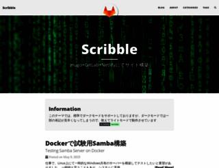 scribble.washo3.com screenshot