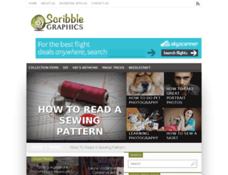 scribblegraphics.com screenshot