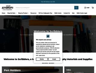 scribblers.co.uk screenshot