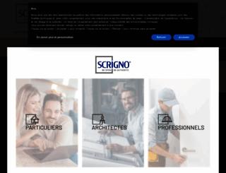 scrigno.fr screenshot