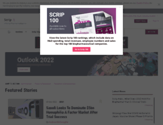 scripintelligence.com screenshot