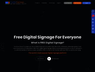 script.digitalsignage.com screenshot