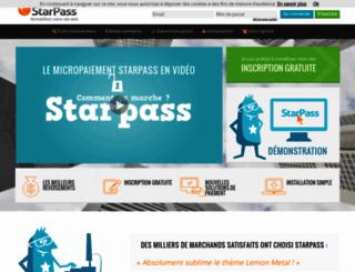 script.starpass.fr screenshot