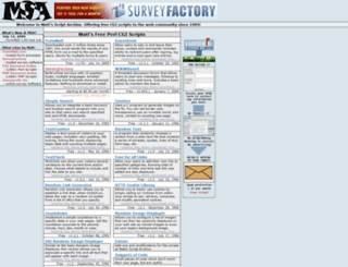 scriptarchive.com screenshot
