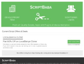 scriptbaba.com screenshot