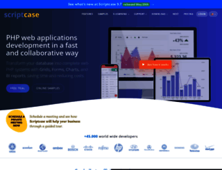 scriptcase.net screenshot