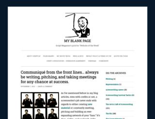 scriptcat.wordpress.com screenshot