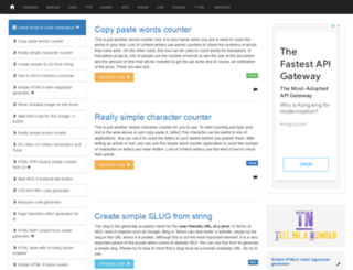 scriptgenerator.net screenshot