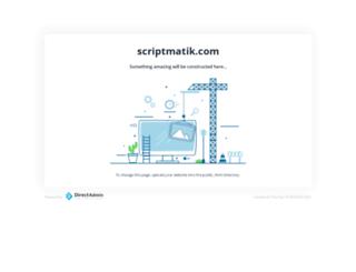 scriptmatik.com screenshot