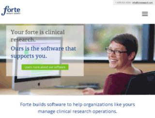 scripts.forteresearch.com screenshot