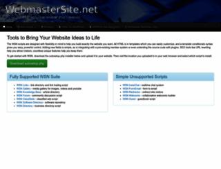 scripts.webmastersite.net screenshot