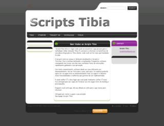 scriptstibia.webnode.com screenshot