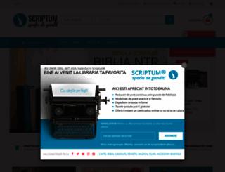 scriptum.ro screenshot