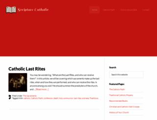 scripturecatholic.com screenshot