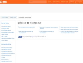 scrisoarederecomandare.ejobs.ro screenshot