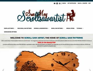 scrollsawartist.com screenshot