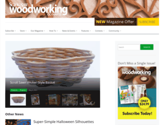 scrollsawer.com screenshot