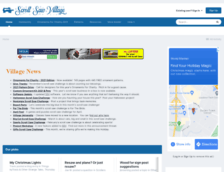 scrollsawvillage.com screenshot