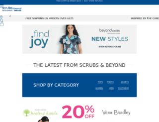 scrubsandbeyond.org screenshot