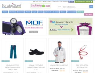scrubsgiant.com screenshot
