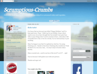 scrumptious-crumbs.blogspot.com screenshot