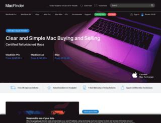 scrumpymacs.co.uk screenshot