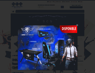 scs-dz.com screenshot
