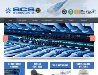 scs-technologies.com screenshot
