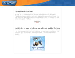 scs.mathletics.com.au screenshot