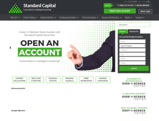 scstrade.com screenshot