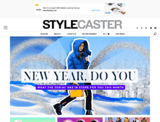 scstylecaster.wordpress.com screenshot