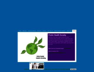 scsu-phs.weebly.com screenshot