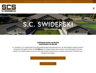 scswiderski.com screenshot