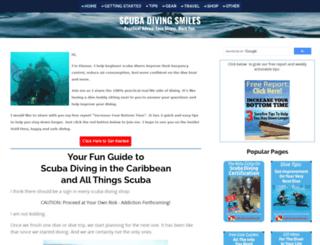 scuba-diving-smiles.com screenshot