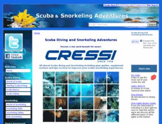 scuba-snorkeling-adventures.com screenshot