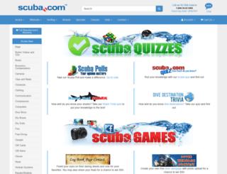scubacontest.com screenshot