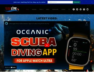 scubadiverlife.com screenshot