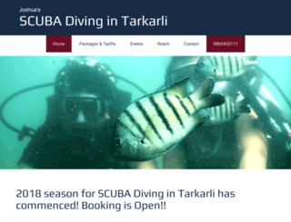scubadivingintarkarli.com screenshot