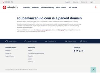 scubamanzanillo.com screenshot