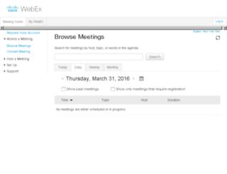 scubaocityencompos.webex.com screenshot