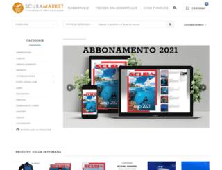 scubashop.it screenshot