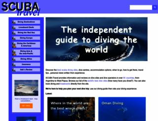 scubatravel.co.uk screenshot