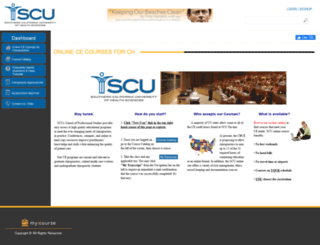 scuhs.myicourse.com screenshot